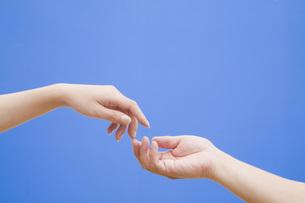 男女の手の写真素材 [FYI00049517]
