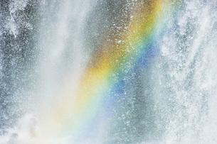 善五郎の滝の虹の写真素材 [FYI00049523]