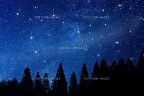 星空の写真素材 [FYI00049611]