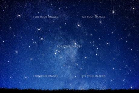 星空の素材 [FYI00049628]
