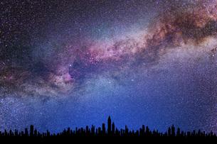 星空の写真素材 [FYI00049633]