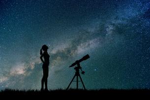 星座観測の写真素材 [FYI00049771]