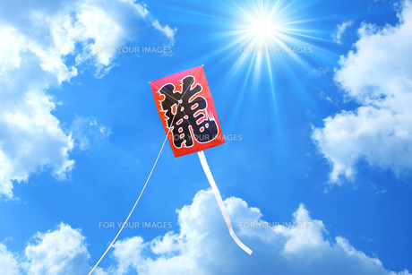 凧の写真素材 [FYI00050152]