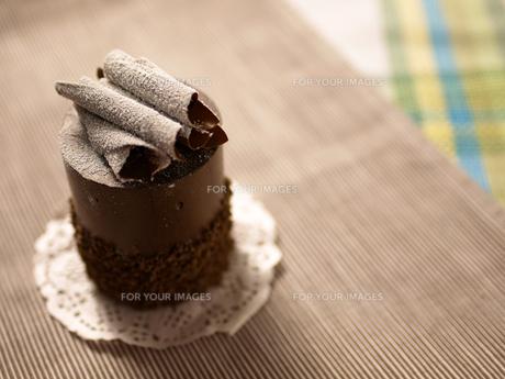 チョコレートケーキの写真素材 [FYI00050495]