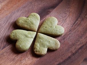 クロバーのクッキーの写真素材 [FYI00050517]