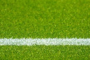 サッカーグラウンドの写真素材 [FYI00050706]