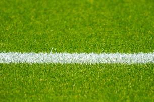 サッカーグラウンドの写真素材 [FYI00050709]