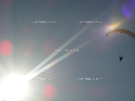 パラグライダーの写真素材 [FYI00050926]