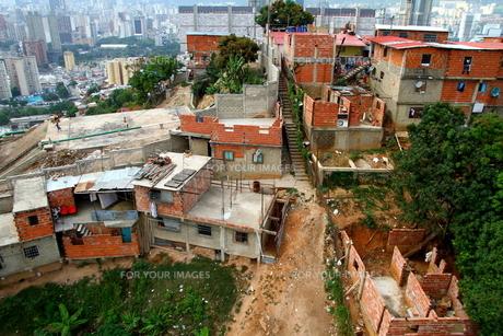 ベネズエラ貧民街から富裕層の素材 [FYI00051019]