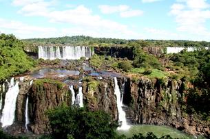 イグアスの滝の写真素材 [FYI00051026]