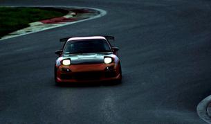 レースカーの写真素材 [FYI00051214]