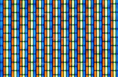 トリニトロン画面の写真素材 [FYI00051501]