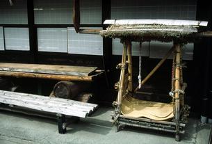 奈良井の街角の写真素材 [FYI00051600]