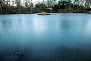 冬の大沼の素材 [FYI00051649]