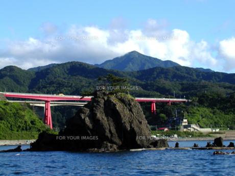 米山と米山大橋の素材 [FYI00051675]