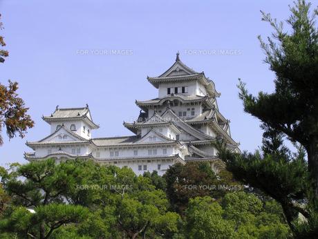 姫路城の素材 [FYI00051719]