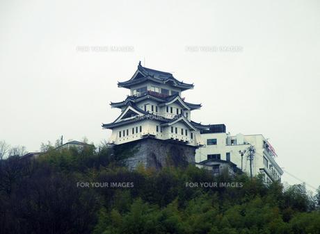尾道城の写真素材 [FYI00051761]