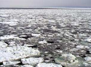 流氷の海の素材 [FYI00051853]
