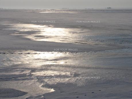 尾岱沼の冬の素材 [FYI00051861]