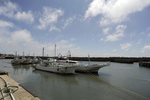 午後の漁港の写真素材 [FYI00052042]