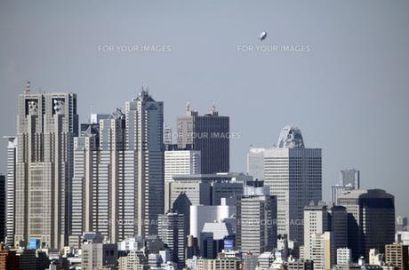 東京の街並みの写真素材 [FYI00052173]