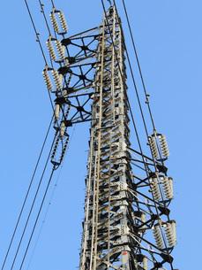 鉄塔と電線の素材 [FYI00052201]
