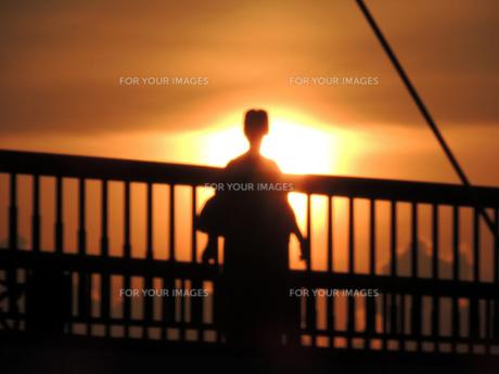 夕日のイメージの素材 [FYI00052442]