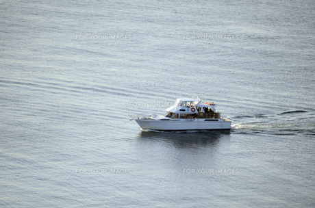海と船の写真素材 [FYI00052510]
