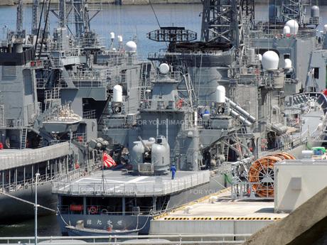 横須賀の護衛艦の素材 [FYI00052580]