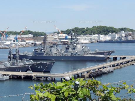 横須賀の護衛艦の素材 [FYI00052584]