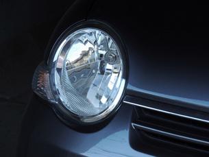 ヘッドライトの写真素材 [FYI00052590]