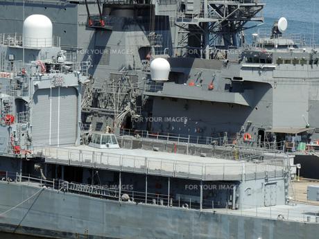横須賀の護衛艦の素材 [FYI00052600]