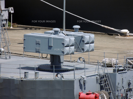 護衛艦の武装の写真素材 [FYI00052688]