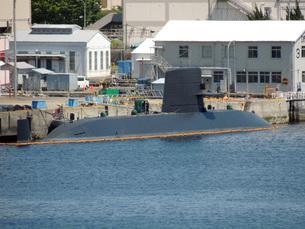 海上自衛隊の潜水艦の写真素材 [FYI00052691]
