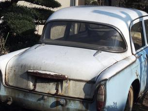 朽ちた車の写真素材 [FYI00052709]
