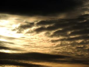 夕焼け雲の素材 [FYI00052713]