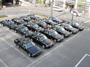 タクシーの素材 [FYI00053114]