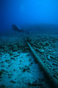 海底ケーブルの素材 [FYI00053460]