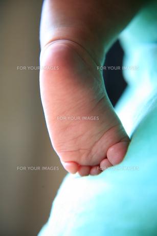 赤ちゃんの足の素材 [FYI00053561]
