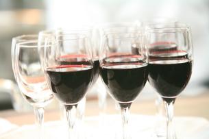 ワイングラスの写真素材 [FYI00053713]