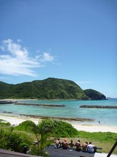 海 空 ビーチの写真素材 [FYI00053801]