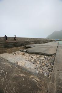 台風による自然災害の写真素材 [FYI00054705]