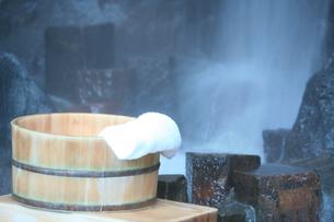 温泉の素材 [FYI00054885]