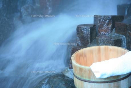 温泉の素材 [FYI00054889]