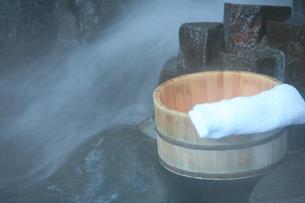 温泉の素材 [FYI00054896]