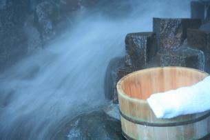 温泉の素材 [FYI00054897]