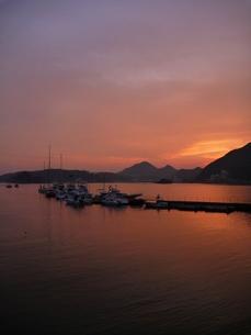 桟橋と海の写真素材 [FYI00055194]