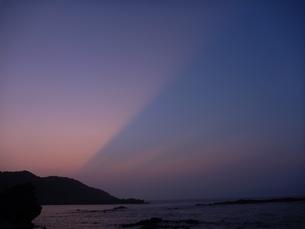 光線と空の写真素材 [FYI00055204]