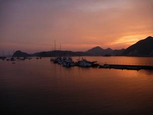 桟橋と海の写真素材 [FYI00055227]