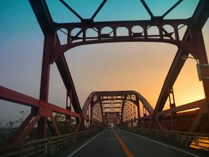 鉄橋の写真素材 [FYI00055403]